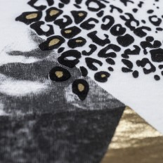 Black Velvet  & Gold Mylar
