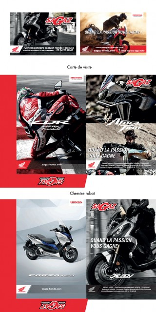 Print Sagaz Honda