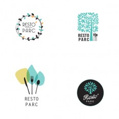 Etude logo Resto Parc
